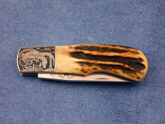 Custom Knife by Steve Hoel