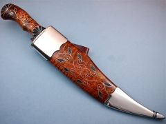 Custom Knife by Jay Hendrickson