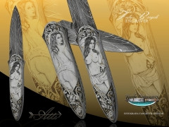 Custom Knife by Attilio Morotti