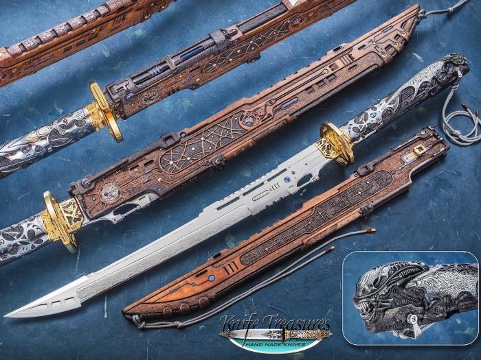 Jose DeBraga Custom Knife
