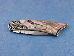 Custom Knife by Harvey McBurnette