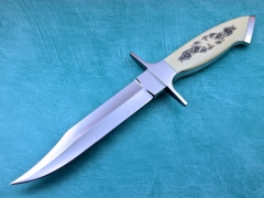 Custom Knife by Billy Mace Imel