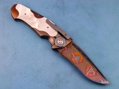 Custom Knife by Allen Elishewitz