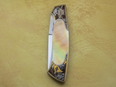 Custom Knife by Tim Herman