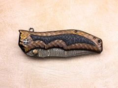 Custom Knife by Darrel Ralph