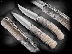 Custom Knife by Fabrizio Silvestrelli