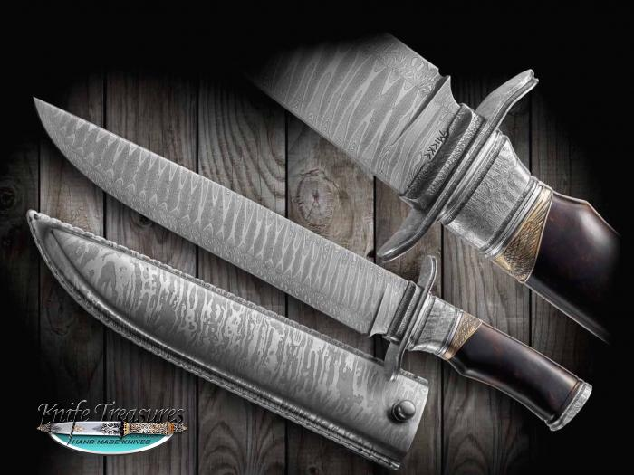 Custom Knives Hand Made By Michael Anderson For Sale By Knife Treasures