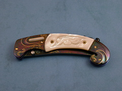 Custom Knife by Shaun/Sharla Hansen