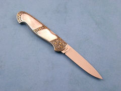 Custom Knife by Tom Overeynder