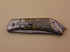 Custom Knife by Don  Hanson III