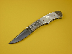 Custom Knife by Jerry Corbit