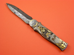 Custom Knife by David Broadwell