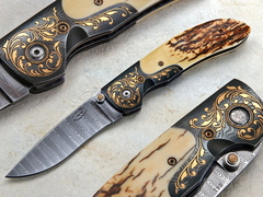 Custom Knife by Johnny  Stout