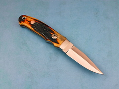 Custom Knife by Thad Buchanan