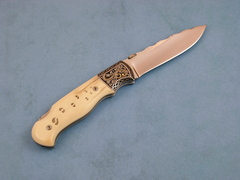 Custom Knife by Kevin Kinsey