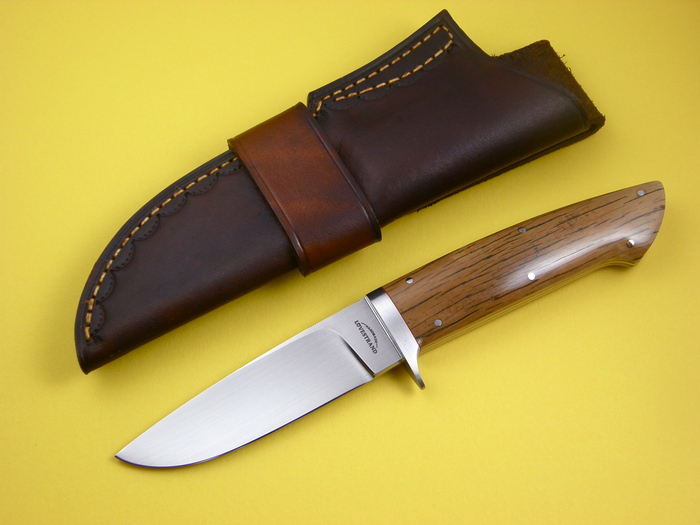 Custom Fixed Blade, N/A, CPM-154, Mammoth Ivory Knife made by Schuyler Lovestrand