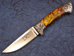Custom Knife by Edmund Davidson