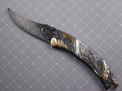 Custom Knife by Don Vogt