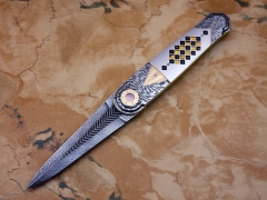 Custom Knife by Owen  Wood