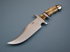 Custom Knife by Steve SR Johnson