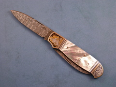 Custom Knife by Warren Osborne